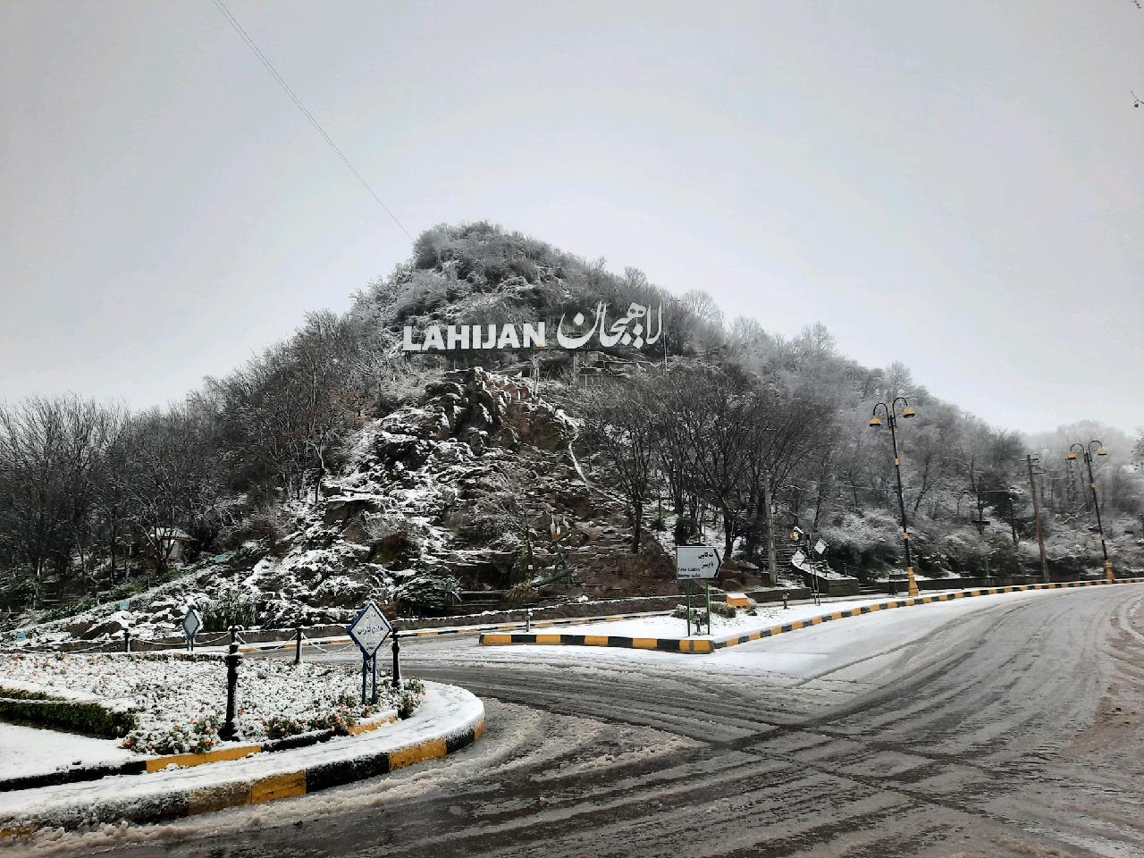 بارش 5 تا 80 سانتی متر برف در گیلان