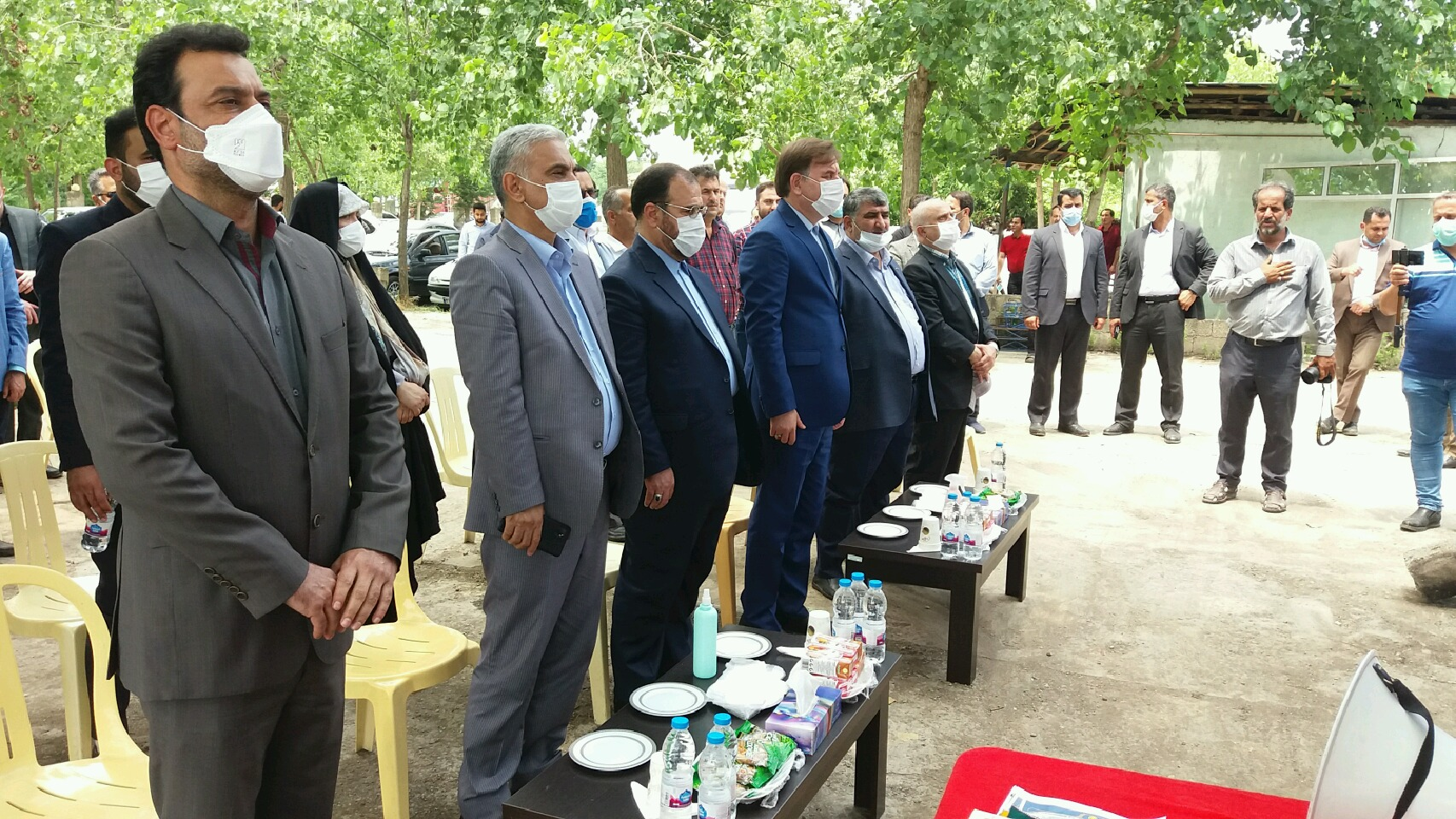 افتتاح رسمی بخشداریهای ضیابر و طاهرگوراب با حضور معاون پارلمانی رییس جمهور