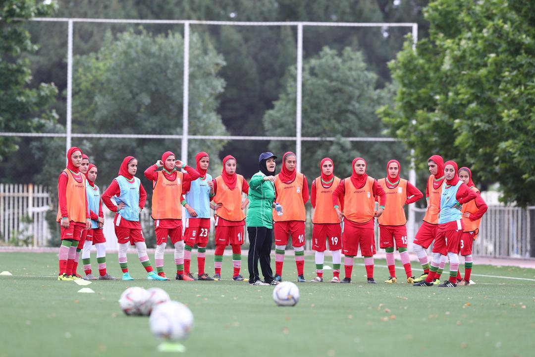 بانوی گیلانی در اردوی تیم ملی فوتبال حضوریافت