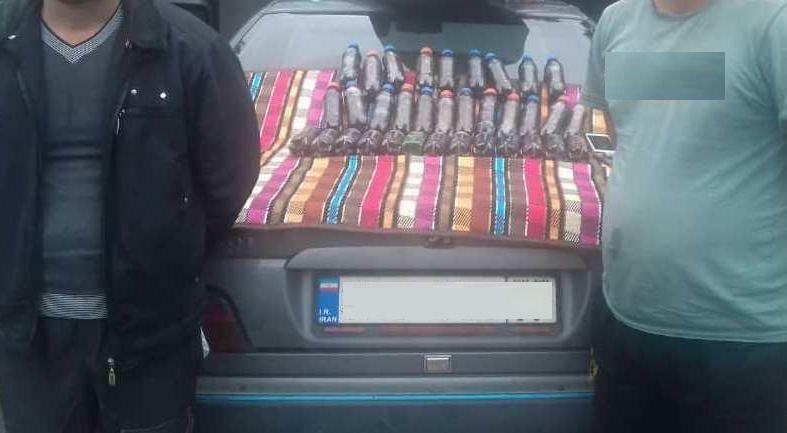 قاچاقچیان مواد مخدر در مرز گیلان و مازندران دستگیرشدند