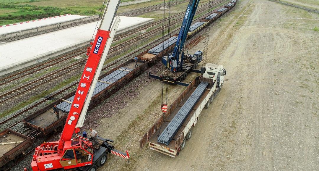 حمل بیش از نیم میلیون تن کالا در راه آهن شمال ۲