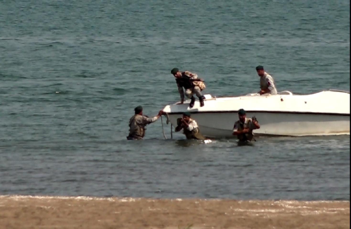 عملیات موفقیت آمیز شناسایی پهپادهای نیروی دریایی ارتش